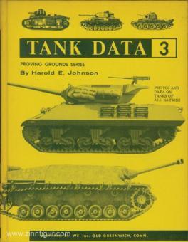 Johnson, Harold E.: Tank Data. Band 3