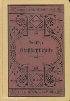 Deutsche Stoßfechtschule nach Kreußlerschen Grundsätzen