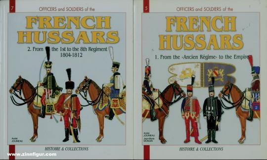 Jouineau, André/Mongin, Jean-Marie: French Hussars 1786-1804. Band 1-2