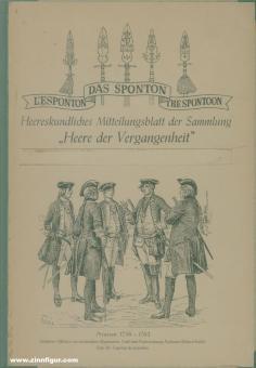 """Das Sponton. Heereskundliches Mitteilungsblatt der Sammlung """"Heere der Vergangenheit"""". Heft 1-24"""