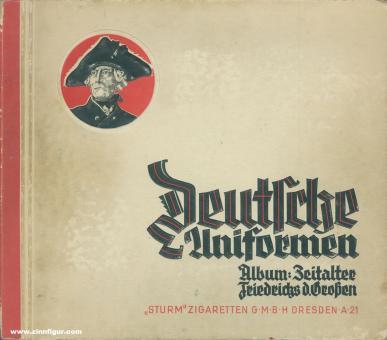Lezius, M./Knötel d. J., H.: Deutsche Uniformen. Band 1: Das Zeitalter Friedrichs des Großen