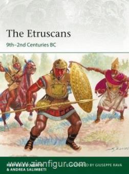 D'Amato, Raffaele/Salimberti, Andrea/Rava, Guiseppe (Illustr.): The Etruscan 9th-2nd Centuries BC