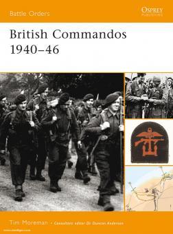 Moreman, T.: British Commandos 1940-46