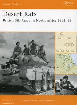 Moreman, T.: Desert Rats. British 8th Army in North Africa 1941-43