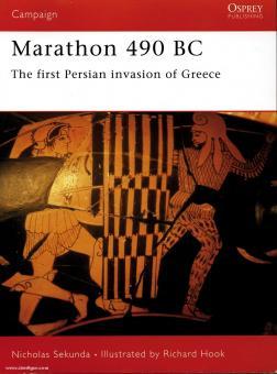 Sekunda, N./Hook, R. (Illustr.): Marathon 490 BC. The first Persian War