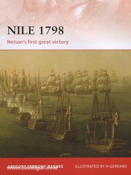 Fremont-Barnes, G./Dennis, P. (Illustr.): Nile 1798. Nelson's first great Victory