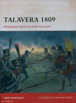 Chartrand, R./Turner, G. (Illustr.): Talavera 1809. Wellington's lightning strike into Spain