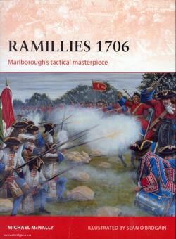 McNally, M./O'Brogain, S. (Illustr.): Ramillies 1706. Marlborough's tactical masterpiece