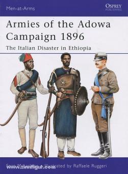 McLachlan, S./Ruggeri, R. (Illustr.): Armies of the Adowa Campaign 1896. The Italian Disaster in Ethiopia