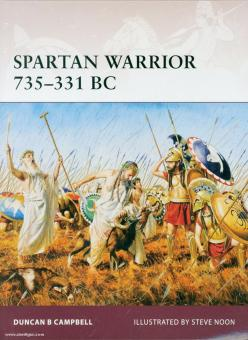 Campbell, D./Noon, S. (Illustr.): Spartan Warrior 735-331 BC