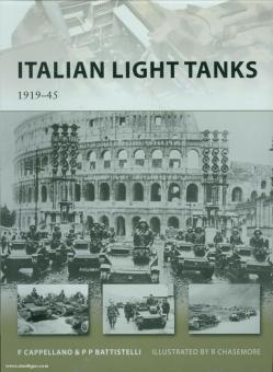 Cappelliano, F./Battistelli, P. P./Chasemore, R. (Illustr.): Italian light Tanks 1919-45