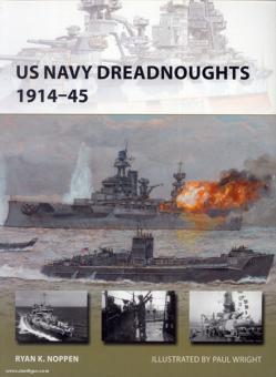 Noppen, R. K./Wright, P. (Illustr.): US Navy Dreadnoughts 1914-45