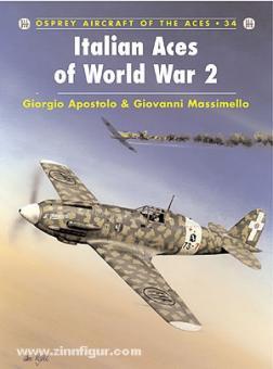 Apostolo, G./Caruana, R. (Illustr.): Italian Aces of World War II