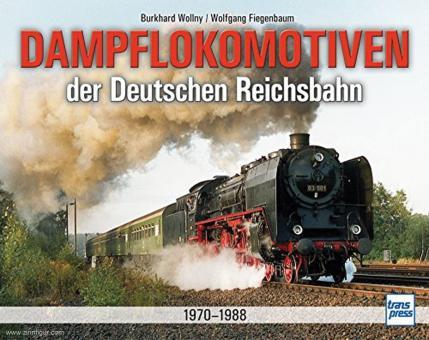 Wollny, Burkhard/Fiegenbaum, Wolfgang: Dampflokomotiven der Deutschen Reichsbahn 1970-1988