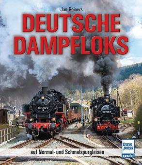 Reiners, Jan: Deutsche Dampfloks auf Normal- und Schmalspurgleisen