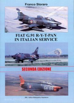 Storaro, F.: Fiat G.91 R-Y-T-P-A-N in italian Service