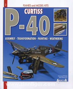 Pernes, E./Souleys, O.: Curtiss P-40. Assembly - Transformation - Painting - Weathering