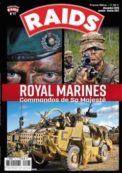 Husson, Jean-Pierre: Raids. Hors-Serie 77: Royal Marines
