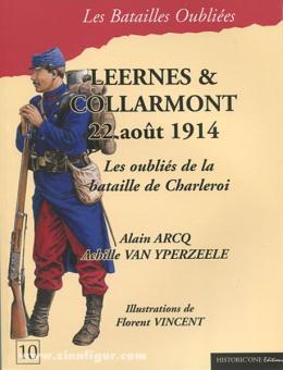 Arco, A./Yperzeele, A. van: Leernes & Collarmont. 22 août 1914