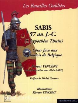 Vincent, F./Arcq, A.: Sabis 57 av. J.-C. Cesar face aux Gauloise de Belgique (L'hypothese Thuin)