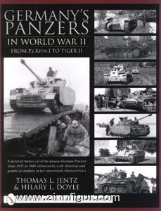 Jentz, T. L./ Doyle, H. L.: Germany's Panzers in World War II. From Pz.Kpfw.I to Tiger