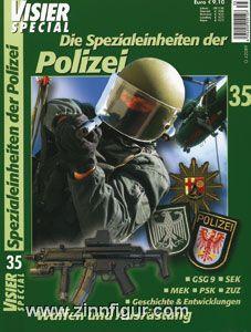 Visier Special Nr. 35: Spezialeinheiten der Polizei