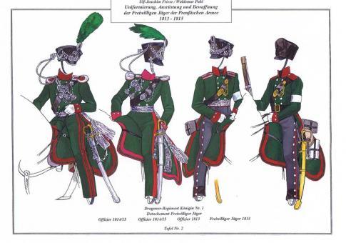 Friese, U.-J.: Uniformierung, Ausrüstung und Bewaffnung der Freiwilligen Jäger der preußischen Armee 1813-1815