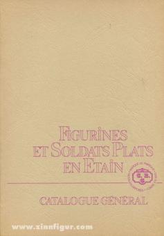 CBG-Mignot. Figurines et Soldats Plats en Etain. Catalogue Général