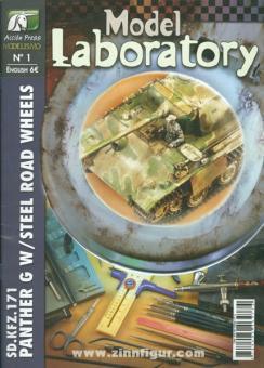González, F./Canellas, F.: Model Laboratory. Heft 1: Sd.Kfz. 171 Panther G w / Steel Road Wheels