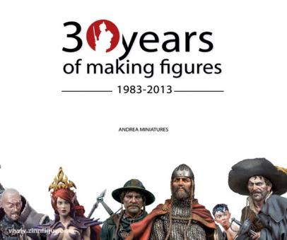 30 years of Andrea Miniatures book