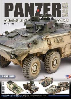 Panzer Aces. Armour Modelling Magazine. Heft 54