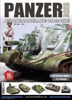 Panzer Aces. Armour Modelling Magazine. Heft 56