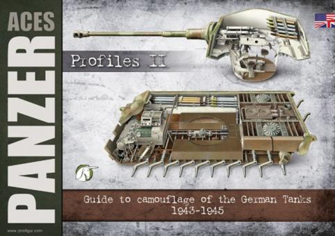 Panzer Aces. Profiles. Band 2: Guide to camouflage and insignia of the German Tanks. 1943-1945