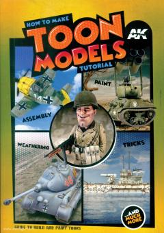 How to make Toon Models Tutorial. Assembly - Paint - Weathering - Tricks. Guide to paint Toons