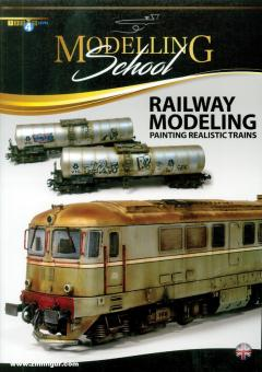 Modelling School. Railway Modelling. Painting Realistic Trains