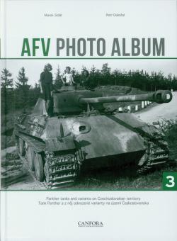 Solár, Marek/Dolezal, Petr: AFV Photo Album. Band 3: Panther Tanks and variants on Czechoslovakian territory