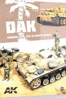 DAK. German AFV in North Africa