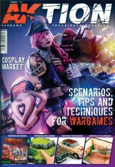 Aktion. Wargame Techniques Magazine. Heft 1