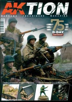 Aktion. Wargame Techniques Magazine. Heft 3