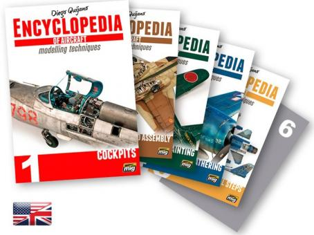 Quijano, D.: Encyclopedia of Aircraft Modelling Techniques. 6 Bände