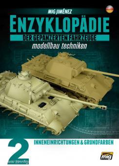 Jimenez, M.: Enzyklopädie der gepanzerten Fahrzeuge - Modellbau Techniken. Band 2: Inneneinrichtungen & Grundfarben