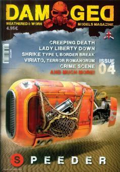 Damaged. Weathered & Worn Models Magazine. Heft 4