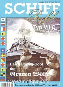 Das Kampf-U-Boot der Grauen Wölfe. Typ VIIC. Der meistgebaute U-Boottyp der Welt