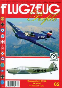 """Franzke, Manfred: Messerschmitt Bf 108 """"Taifun"""""""