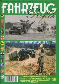 Koch, F.: Lastkraftwagen der militärischen Formationen der DDR 1962 bis 75. Teil 2: Leichte und mittlere Fahrzeuge aus UdSSR-Produktion