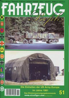 Löher, H./Schäfer, W.: Die Einheiten der US Army Europa im Jahre 1981 - Das Divisionsversorgungskommando