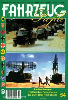 Koch, F.: Lastkraftwagen militärischer Formationen der DDR 1962-1975. Teil 3: Schwere Fahrzeuge aus der UdSSR- und der CSSR-Produktion