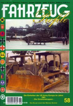 Löher, H./Schäfer, W.: Die Einheiten der US Army Europa im Jahre 1981 - Die Divisionstruppen