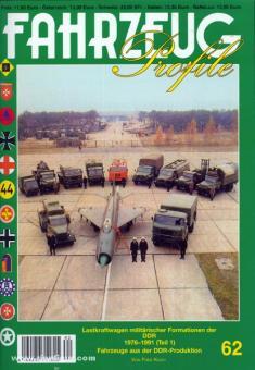 Koch, F.: Lastkraftwagen militärischer Formationen der DDR 1976-1991. Teil 1: Fahrzeuge aus der DDR-Produktion