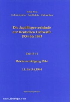 Prien, J./Rodeike, P./Stemmer, G./Bock, W.: Die Jagdfliegerverbände der deutschen Luftwaffe 1934-1945. Teil 13/1: Reichsverteidigung 1.1. bis 5.6.1944